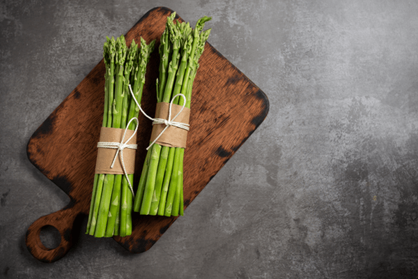 Chilled Asparagus With Caper Shallot Vinaigrette