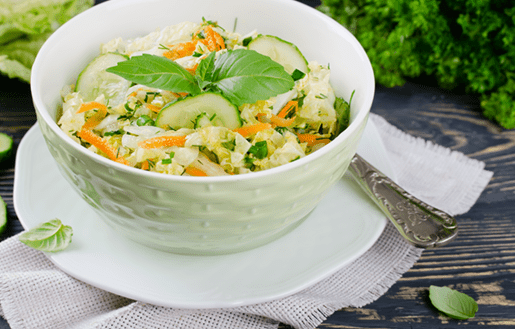 Cabbage Slaw With Dill