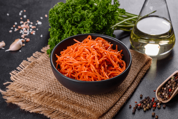 Carrot Mint Salad