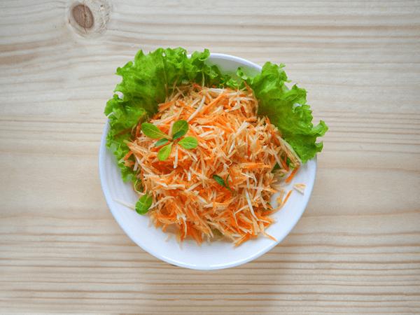 Grated Carrot and Celeriac Salad