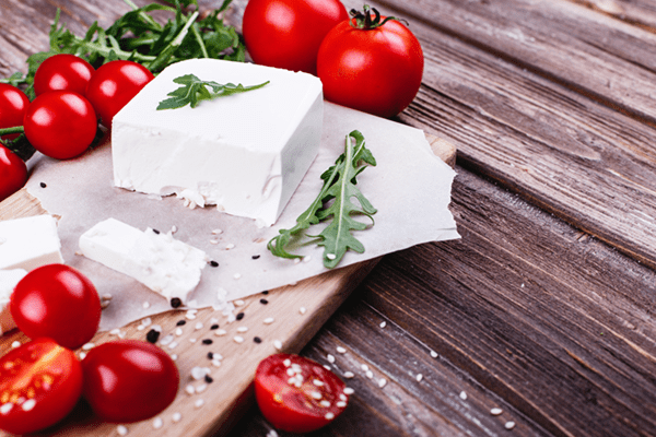 Spicy Baked Feta And Red Pepper Dip