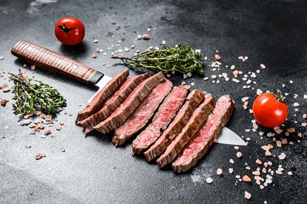 Pan Roasted Flank Steak