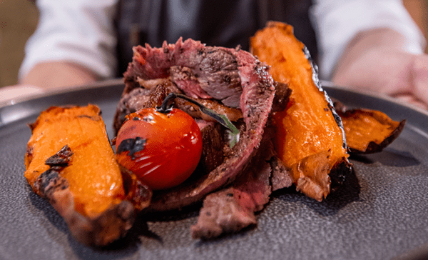 Indian Style Beef And Sweet Potatoes