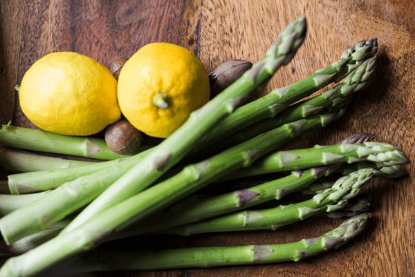 Lemon Quinoa With Asparagus and Feta