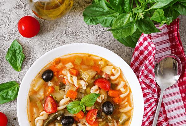 Basic Minestrone Soup