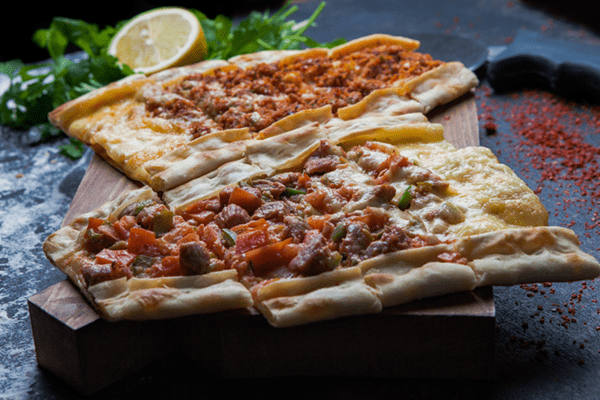 Italian Sausage Pita Pizza With Peppers And Carrots
