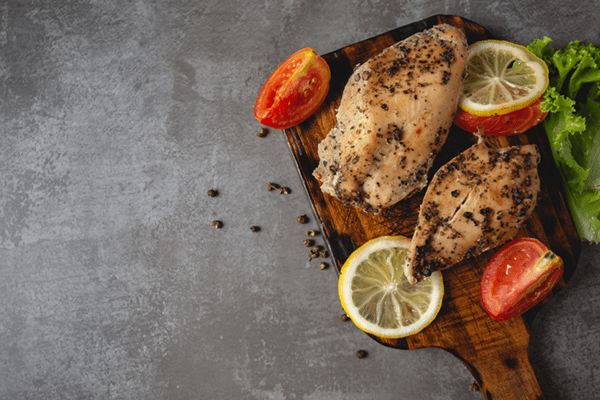 Roasted Chicken Breast With Rosemary And Lemon