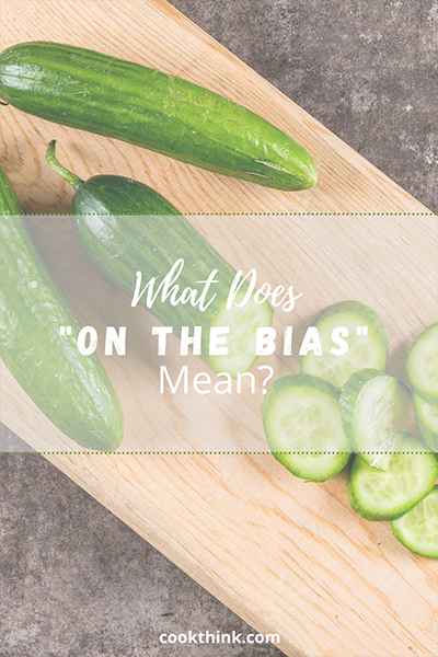 "What Does ""On the Bias"" Mean?_1"