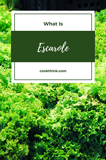 What Is Escarole?_3