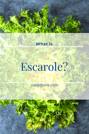 What Is Escarole?_4