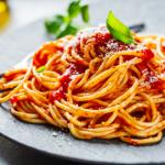 Spaghetti With Strawberries