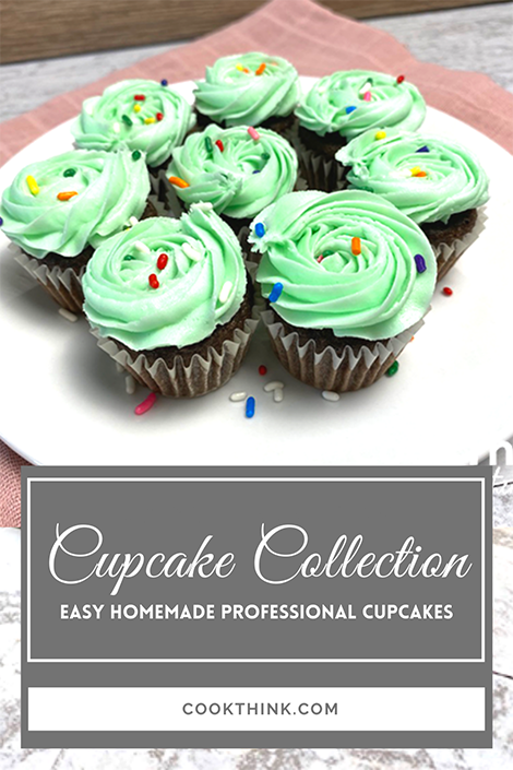 Cupcake Collection Pinterest Image