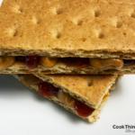 PB&J Graham Cracker Sandwich_angle