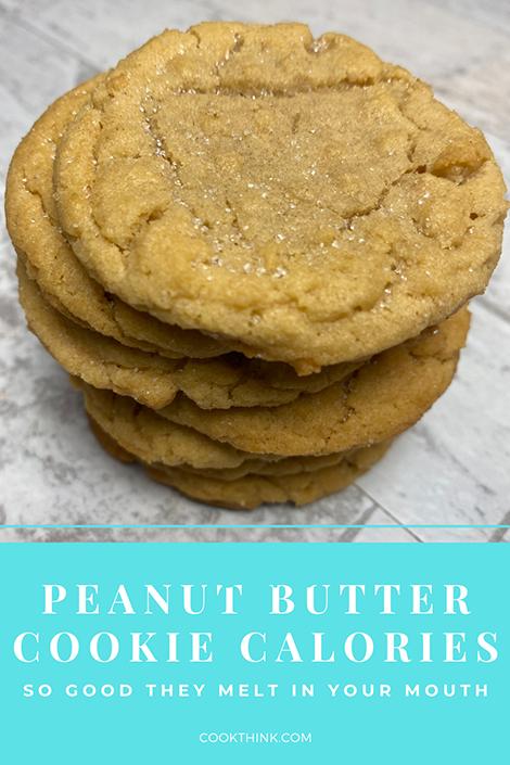Peanut Butter Cookie Calories_Pinterest Pin