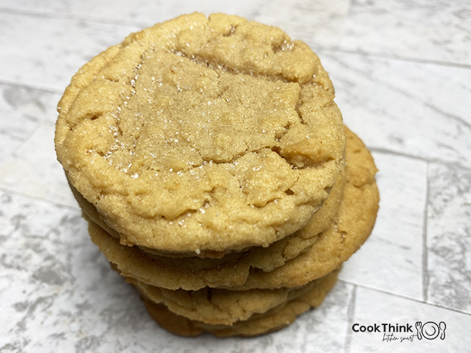 Peanut Butter Cookies_Stacked