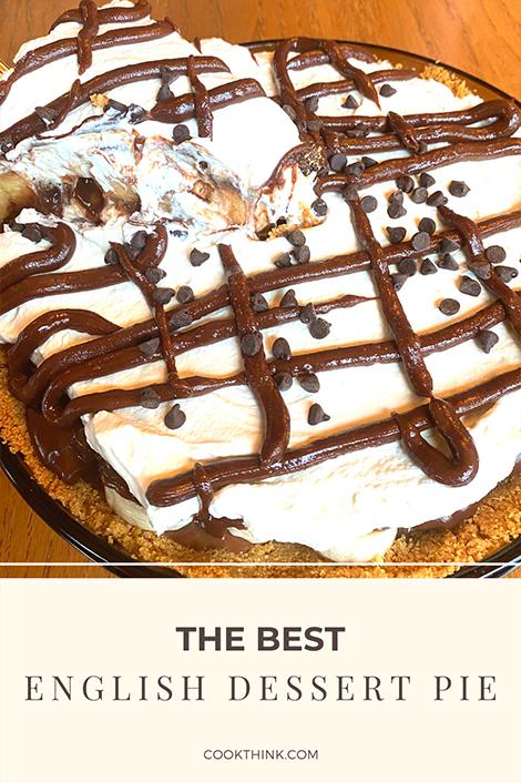 The Best English Dessert Pie _ Pinterest Pin