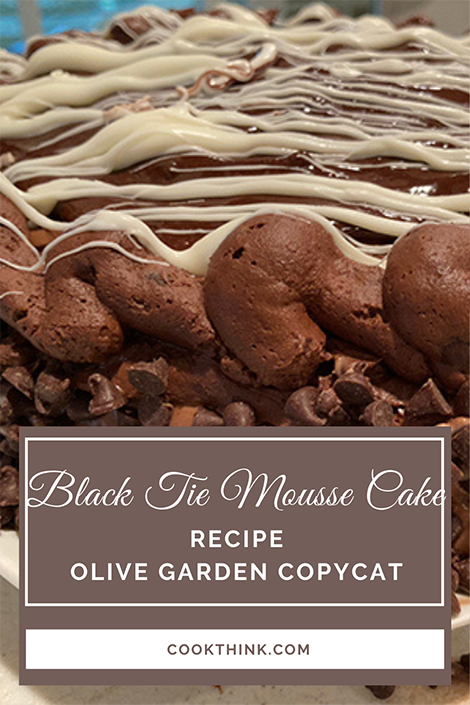 Black Tie Mouse Cake _ Pinterest Image