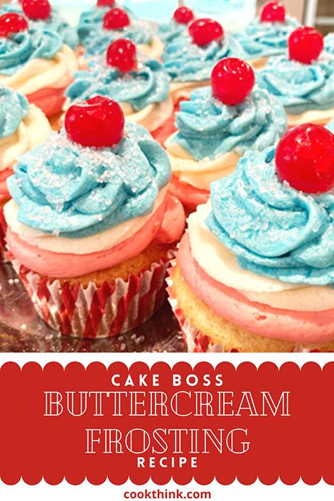 Cakeboss Buttercream Frosting Pinterest Image