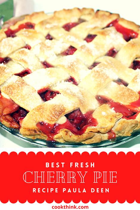 Fresh Cherry Pie Pinterest Image