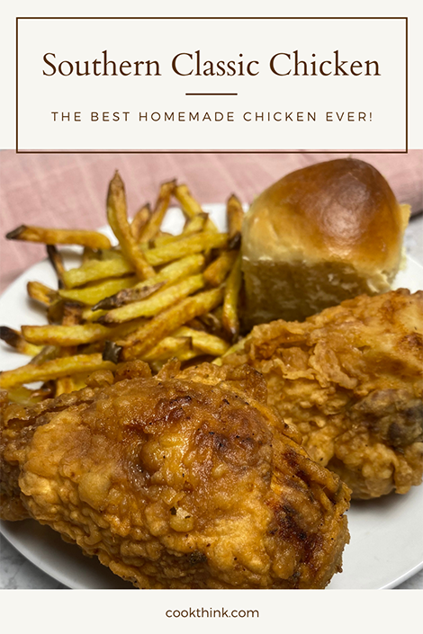 Southern Classic Chicken Pinterest Image