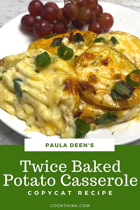 Twice Baked Potato Casserole Pinterest Image