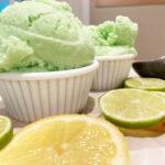 Lemon Lime Kool-Aid Sherbet. Photo by CookThink