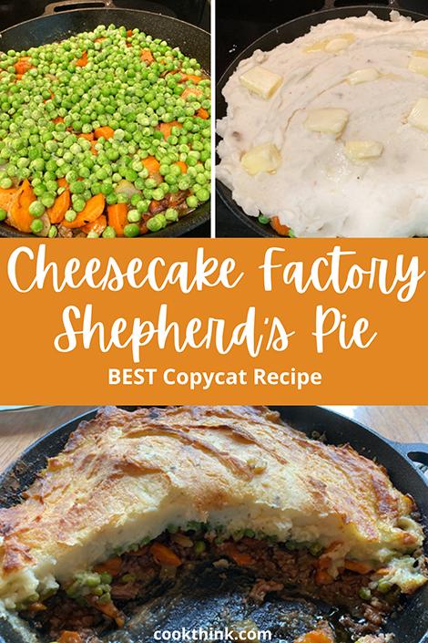 Cheesecake factory shepherds pie Pinterest Image