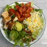 Wendy's Southwest Avocado Salad top view