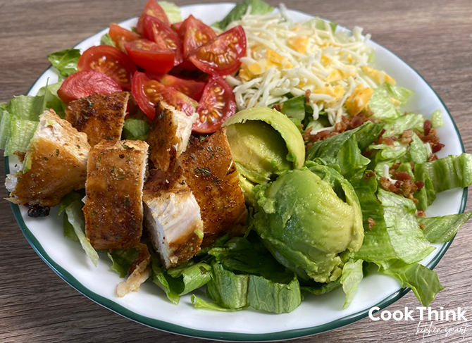 Wendy's Southwest Avocado Salad