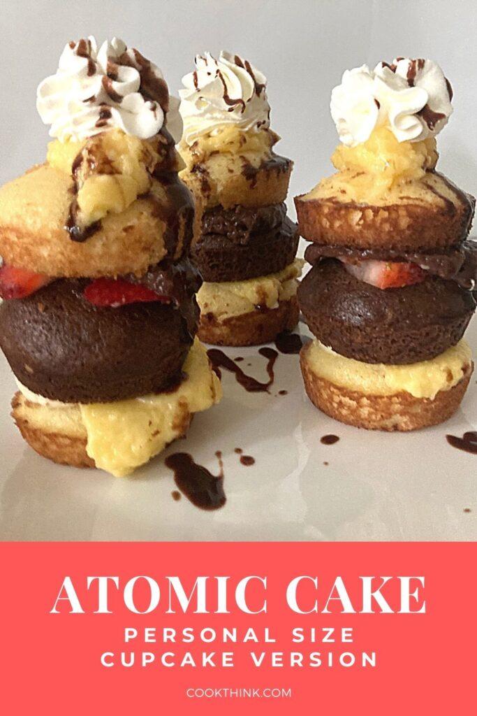 Atomic cake pinterest pin