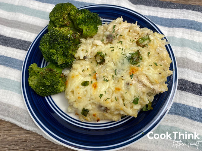 Chicken and Rice Casserole tip view