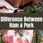 difference between ham and pork