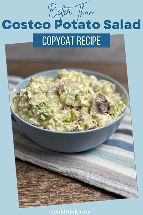 Costco Potato Salad Pinterest Image