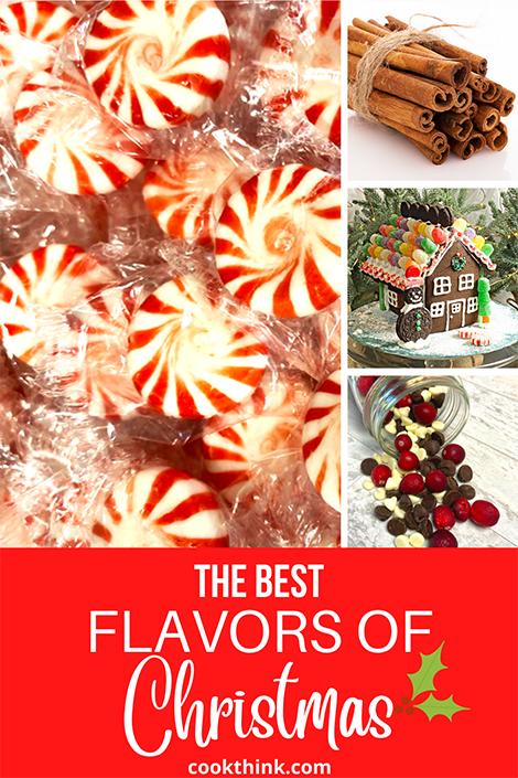 The Flavors of Christmas Pinterest Image