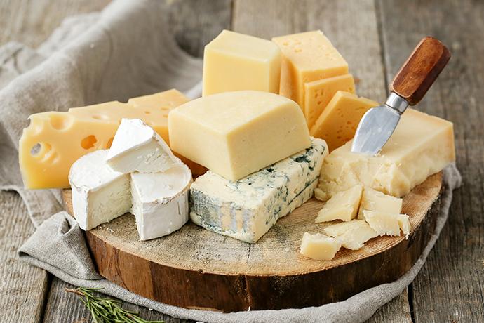 cheese pile christmas flavor