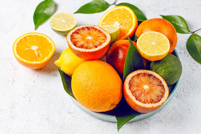 citrus christmas flavor