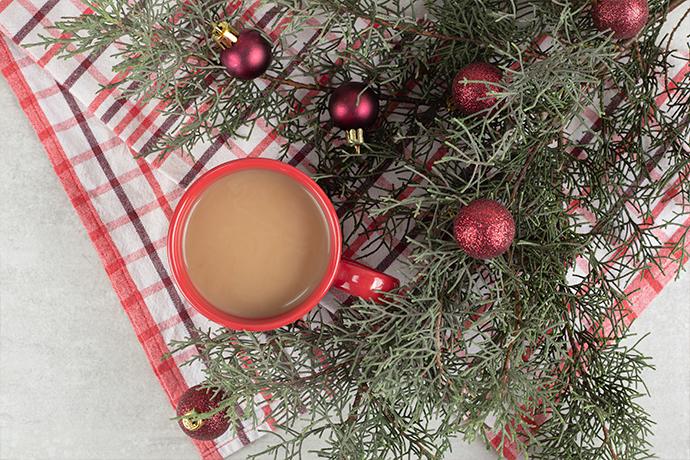 coffee christmas flavor