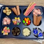 cupcake candy tray